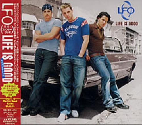 Lite Funky Ones/LFO Life Is Good CD album (CDLP) Japanese L-FCDLI202099