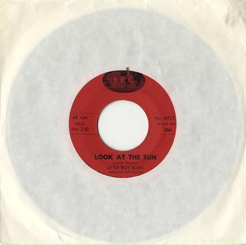 "Little Boy Blues Look At The Sun 7"" vinyl single (7 inch record) US L5507LO574899"