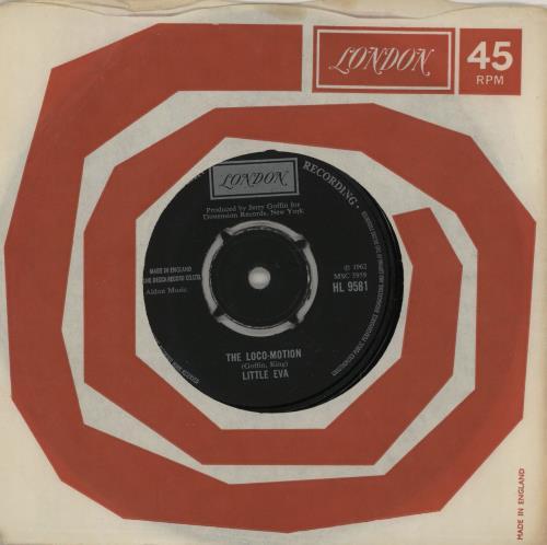 "Little Eva The Loco-Motion - 1972 7"" vinyl single (7 inch record) UK EV-07TH763400"