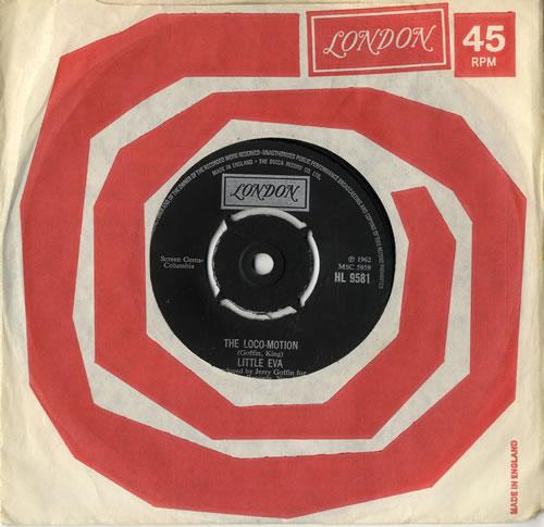 "Little Eva The Loco-Motion 7"" vinyl single (7 inch record) UK EV-07TH561600"
