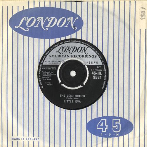 "Little Eva The Loco-Motion 7"" vinyl single (7 inch record) UK EV-07TH571468"