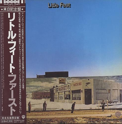 Little Feat Little Feat CD album (CDLP) Japanese LFECDLI396157