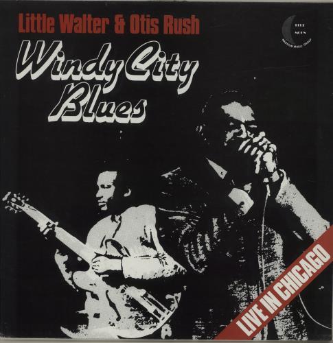 Little Walter Windy City Blues vinyl LP album (LP record) UK LTWLPWI685602