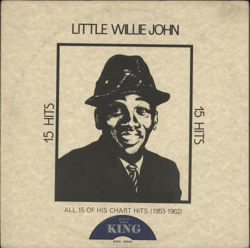 Little Willie John All 15 Of His Chart Hits (1953-1962) vinyl LP album (LP record) US L03LPAL719928
