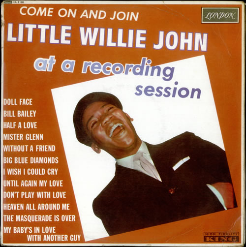 Little Willie John Come On And Join Little Willie John At A Recording Session vinyl LP album (LP record) UK L03LPCO530332