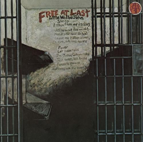 Little Willie John Free At Last vinyl LP album (LP record) German L03LPFR588330