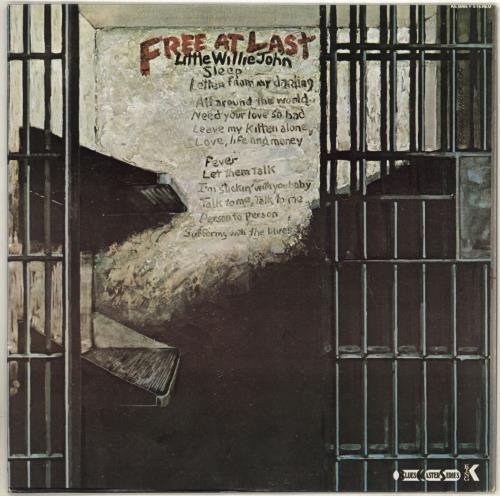 Little Willie John Free At Last vinyl LP album (LP record) US L03LPFR707919