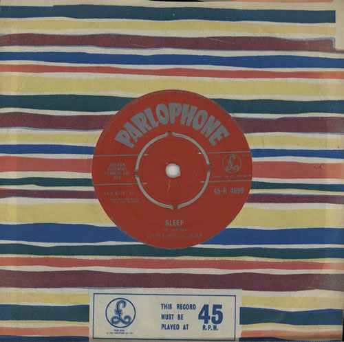"Little Willie John Sleep 7"" vinyl single (7 inch record) UK L0307SL572042"