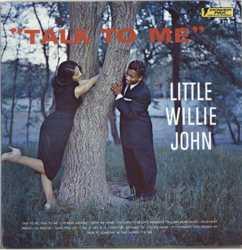 Little Willie John Talk To Me vinyl LP album (LP record) US L03LPTA706214