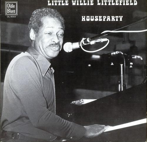 Little Willie Littlefield Houseparty vinyl LP album (LP record) Dutch LW5LPHO498228