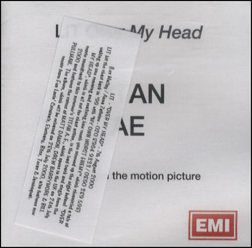 Lit Over My Head CD-R acetate UK TILCROV162163