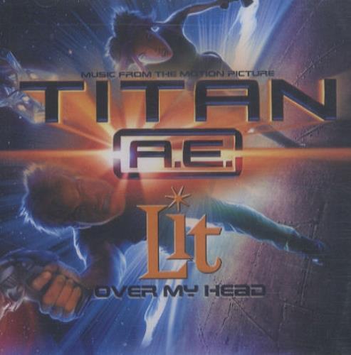 Lit Over My Head CD-R acetate UK TILCROV162164