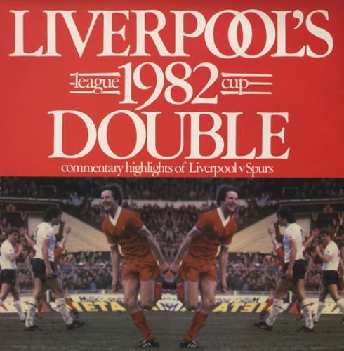 Liverpool FC Liverpool's 1982 League Cup Double vinyl LP album (LP record) UK LFCLPLI374593