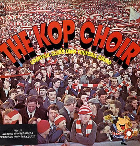 Liverpool FC The Kop Choir vinyl LP album (LP record) UK LFCLPTH297439