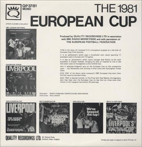 Liverpool FC Viva El Kop vinyl LP album (LP record) UK LFCLPVI119652