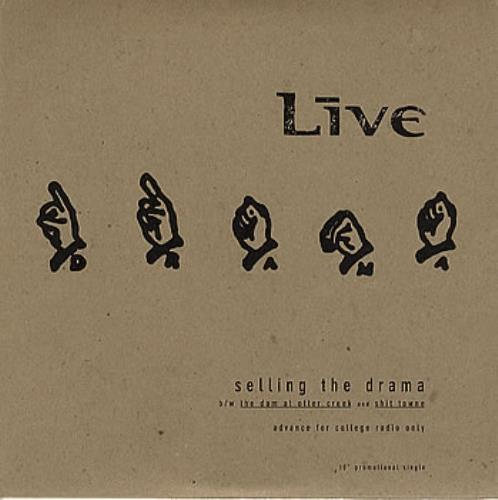 "Live Selling The Drama 10"" vinyl single (10"" record) US LVE10SE350411"