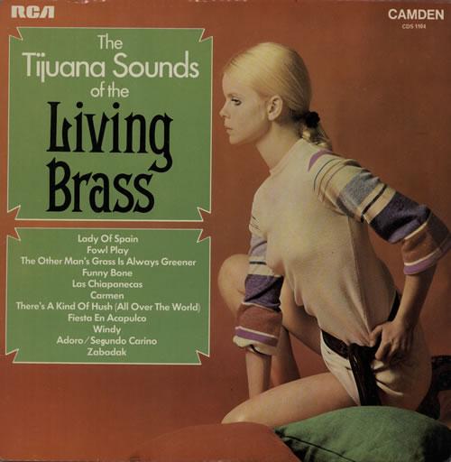 Living Brass The Tijuana Sounds Of The Living Brass vinyl LP album (LP record) UK L58LPTH576452