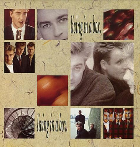Living In A Box Living In A Box UK vinyl LP album (LP record) (138700)
