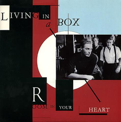Living In A Box Room In Your Heart Poster Sleeve Uk 7 Vinyl
