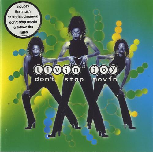 Livin' Joy Don't Stop Movin CD album (CDLP) UK LVJCDDO449217