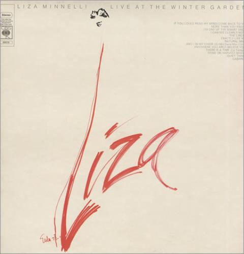 Liza Minnelli Live At The Winter Garden vinyl LP album (LP record) UK LIZLPLI346170