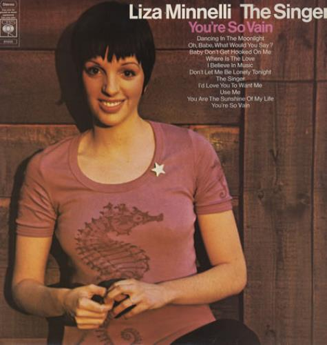 Liza Minnelli The Singer vinyl LP album (LP record) UK LIZLPTH362107