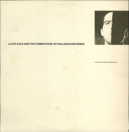 "Lloyd Cole My Bag - Dancing Remix 12"" vinyl single (12 inch record / Maxi-single) UK LLO12MY108666"