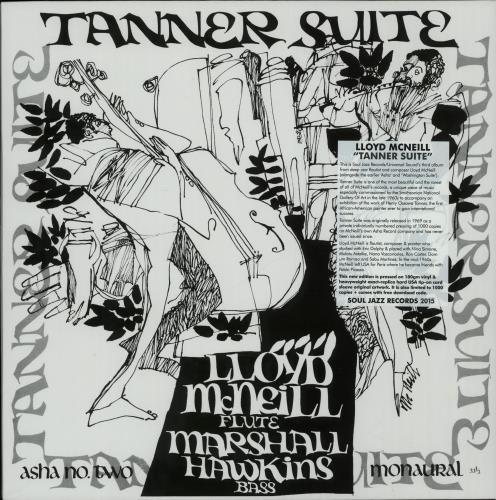 Lloyd McNeill Tanner Suite - 180Gram vinyl LP album (LP record) UK OMZLPTA650869