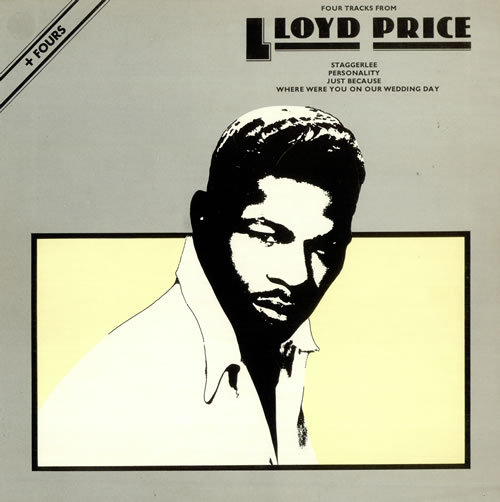 Lloyd Price Four Tracks From Lloyd Price vinyl LP album (LP record) UK LPCLPFO487902