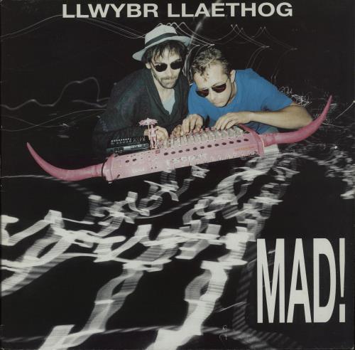 Llwybr Llaethog Mad! vinyl LP album (LP record) UK OQ0LPMA657317