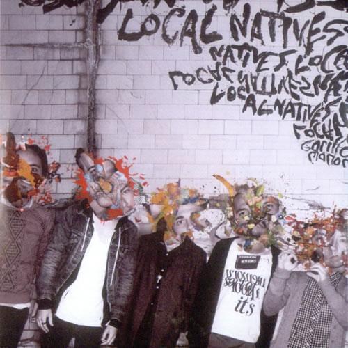 Local Natives Gorilla Manor - Album Sampler CD-R acetate UK L0FCRGO535271