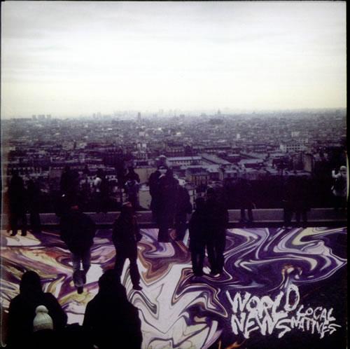 "Local Natives World News CD single (CD5 / 5"") UK L0FC5WO535269"