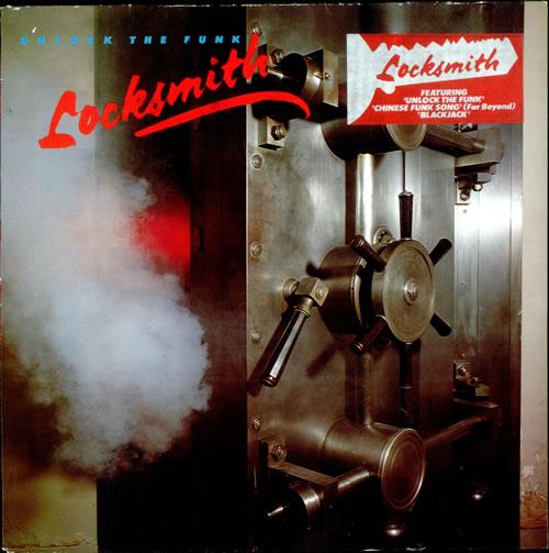 Locksmith Unlock The Funk Uk Vinyl Lp Album Lp Record