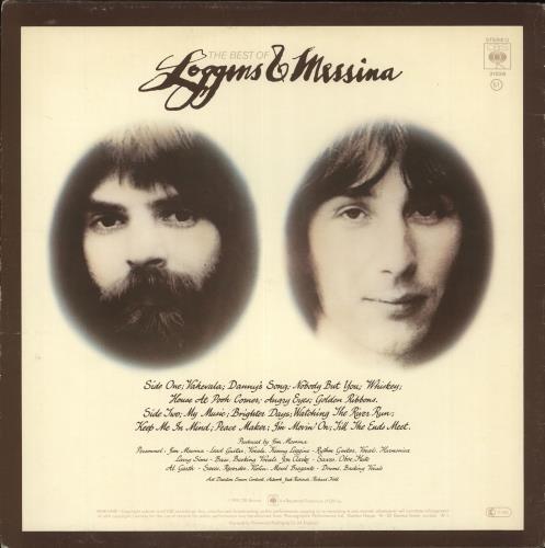 Loggins & Messina The Best Of vinyl LP album (LP record) UK LBPLPTH719918