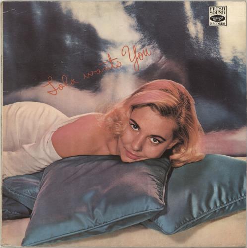 Lola Albright Lola Wants You vinyl LP album (LP record) Spanish L2MLPLO697692