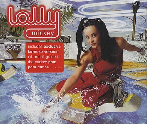 "Lolly Mickey CD single (CD5 / 5"") UK OYYC5MI388198"