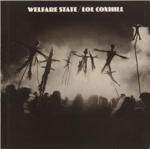 Lol Coxhill Welfare State / Lol Coxhill + Poster vinyl LP album (LP record) UK LCXLPWE691560