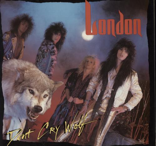 London (US) Don't Cry Wolf vinyl LP album (LP record) UK L4XLPDO564734