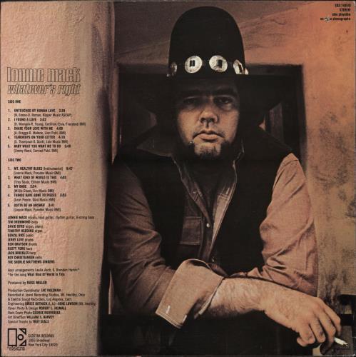 Lonnie Mack Whatever's Right vinyl LP album (LP record) US LM6LPWH712392