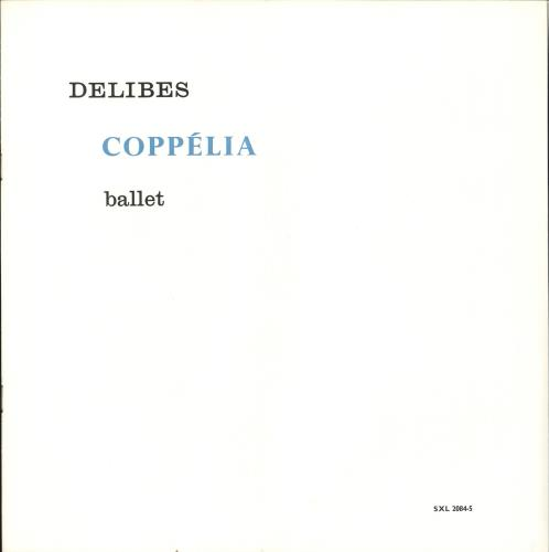 L'Orchestre De La Suisse Romande Delibes: Coppelia (Ballet) - 1st WBg Vinyl Box Set UK N7OVXDE708625