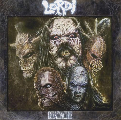 Lordi Deadache CD-R acetate Japanese LD1CRDE457900