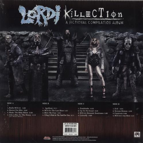 Lordi Killection (A Fictional Compilation Album) picture disc LP (vinyl picture disc album) UK LD1PDKI760815