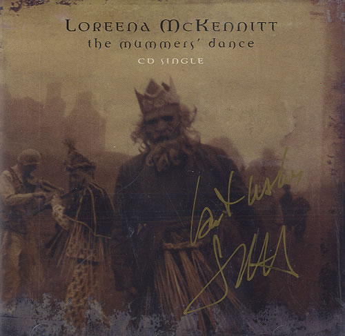 "Loreena McKennitt The Mummers' Dance - Autographed CD single (CD5 / 5"") Canadian LKTC5TH485620"