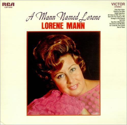 Lorene Mann A Mann Named Lorene vinyl LP album (LP record) US L1MLPAM457284