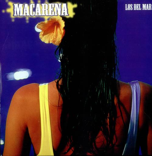 "Los Del Rio Macarena 12"" vinyl single (12 inch record / Maxi-single) UK LDR12MA527483"