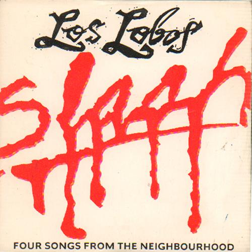 "Los Lobos Four Songs From The Neighbourhood CD single (CD5 / 5"") UK LOSC5FO674305"