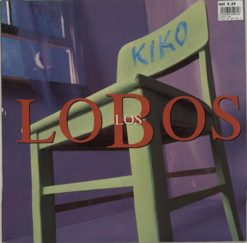 Los Lobos Kiko vinyl LP album (LP record) Dutch LOSLPKI679129