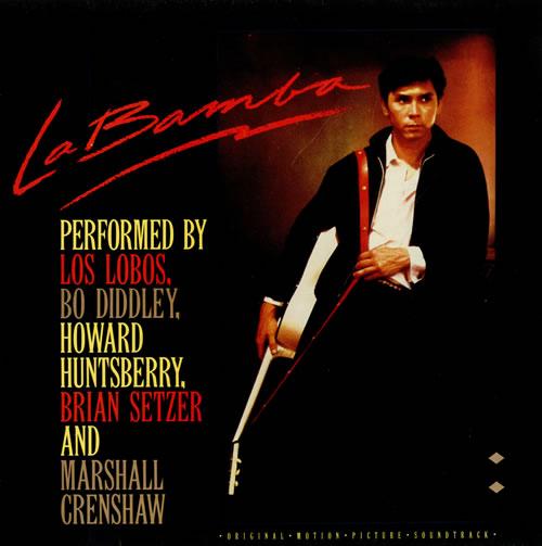 Los Lobos La Bamba vinyl LP album (LP record) UK LOSLPLA498417