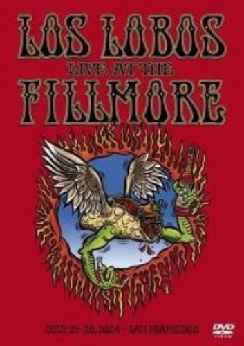 Los Lobos Live At The Fillmore DVD UK LOSDDLI325874