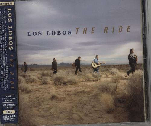 Los Lobos The Ride CD album (CDLP) Japanese LOSCDTH681545